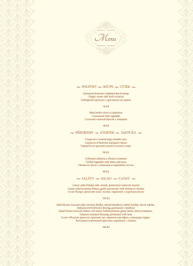 RESTAURANT GOLDEN EGG MENU IN PDF: